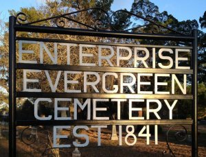 Enterprise Evergreen Cemetery: Past, Present, and Future