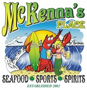 Fundraiser Monday at McKenna's in New Smyrna Beach @ Mckennna's Place New Smyrna Beach