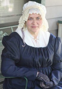Marcea Oetting portrays Abigail Adams @ New Smyrna Museum of History