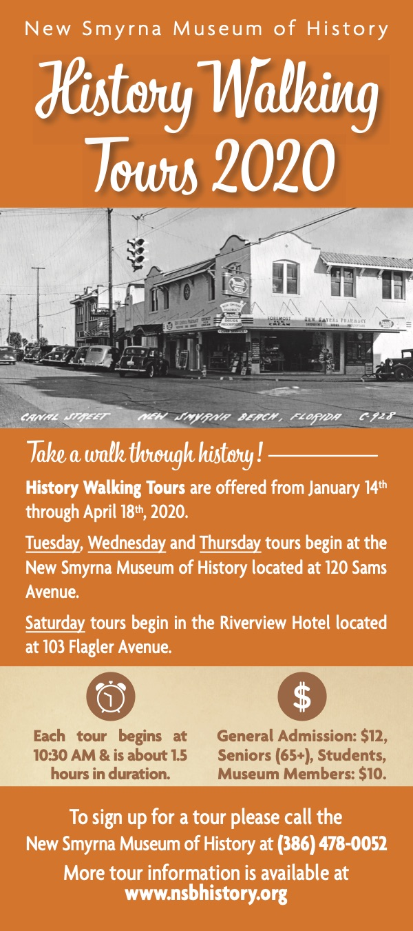 New Smyrna Beach History Walking Tours